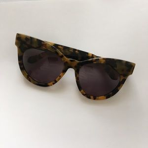 38f6dc159f3 Karen Walker Accessories - Karen Walker Starburst Cat Eye Tortoise  Sunglasses